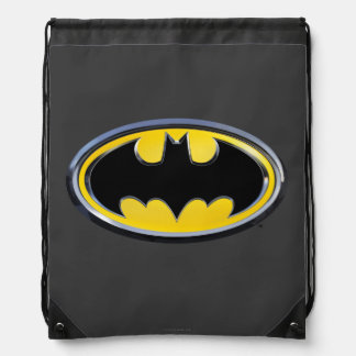 Batman Symbol | Classic Logo Drawstring Bag