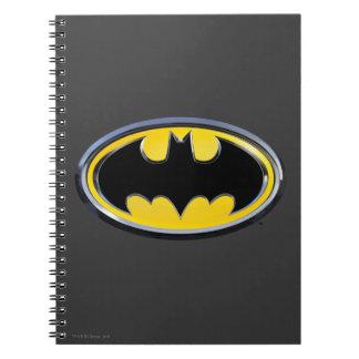 Batman Symbol   Classic Logo Spiral Note Book