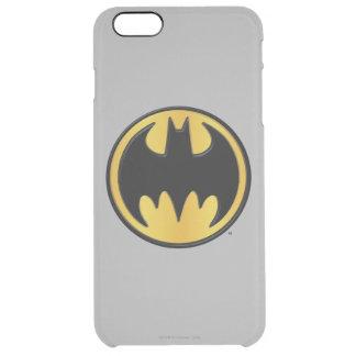 Batman Symbol | Classic Round Logo Clear iPhone 6 Plus Case