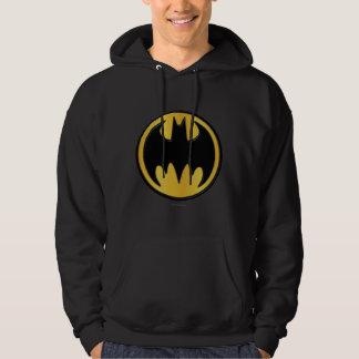 Batman Symbol   Classic Round Logo Hoodie