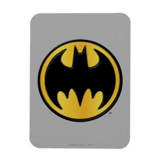 Batman Symbol   Classic Round Logo Magnet