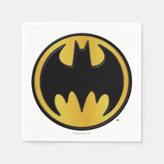 Batman Symbol | Classic Round Logo Paper Napkins