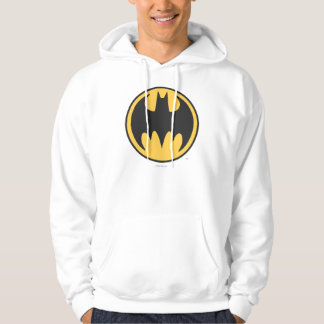 Batman Symbol | Dark Yellow Circle Logo Hoodie