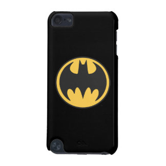 Batman Symbol | Dark Yellow Circle Logo iPod Touch 5G Cover