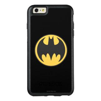 Batman Symbol | Dark Yellow Circle Logo OtterBox iPhone 6/6s Plus Case