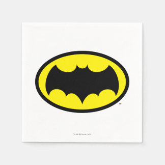 Batman Symbol Disposable Napkins
