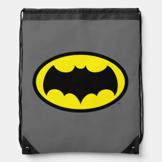 Batman Symbol Drawstring Bag