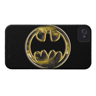 Batman Symbol   Gold Logo iPhone 4 Case-Mate Case