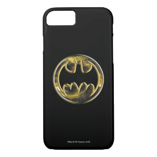 Batman Symbol | Gold Logo iPhone 8/7 Case