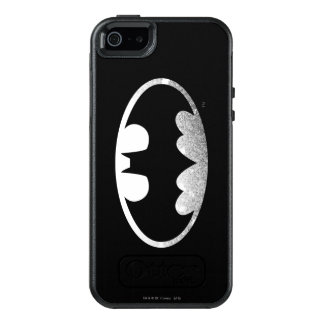 Batman Symbol | Grainy Logo 2 OtterBox iPhone 5/5s/SE Case