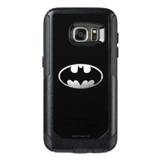 Batman Symbol | Grainy Logo 2 OtterBox Samsung Galaxy S7 Case
