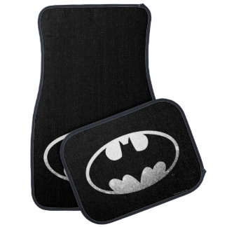 Batman Symbol | Grainy Logo Car Mat