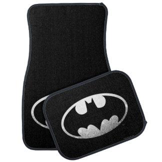 Batman Symbol | Grainy Logo Floor Mat