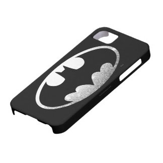 Batman Symbol | Grainy Logo iPhone 5 Cases