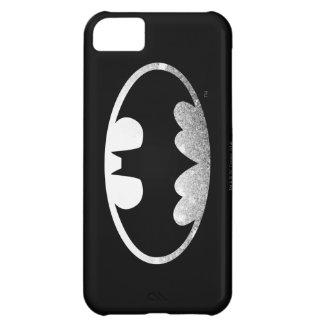 Batman Symbol | Grainy Logo iPhone 5C Case