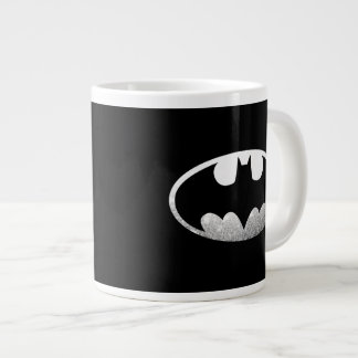 Batman Symbol | Grainy Logo Jumbo Mug