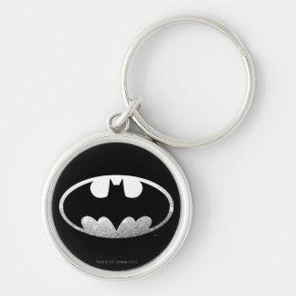 Batman Symbol | Grainy Logo Key Ring