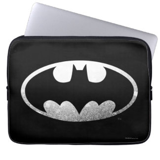 Batman Symbol | Grainy Logo Laptop Computer Sleeve