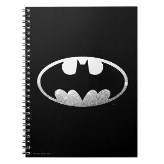 Batman Symbol | Grainy Logo Notebook
