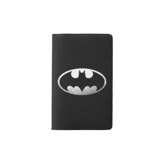 Batman Symbol | Grainy Logo Pocket Moleskine Notebook