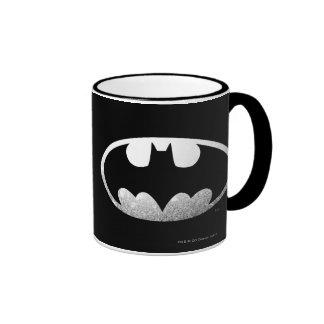 Batman Symbol | Grainy Logo Ringer Mug