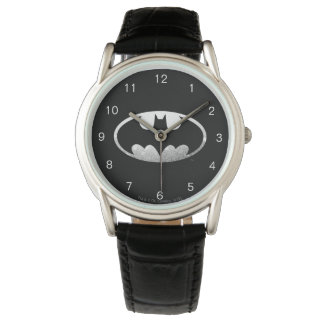 Batman Symbol   Grainy Logo Watches