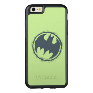Batman Symbol | Gray Grunge Logo 2 OtterBox iPhone 6/6s Plus Case