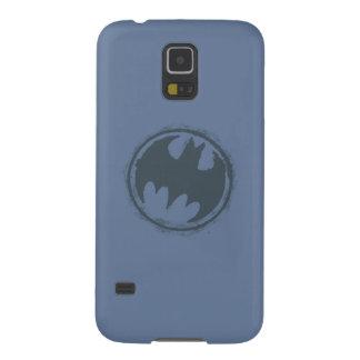 Batman Symbol | Gray Grunge Logo Cases For Galaxy S5