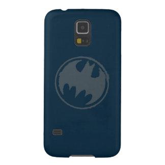 Batman Symbol   Gray Grunge Logo Galaxy S5 Cover