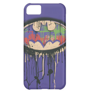 Batman Symbol | Green Purple Red Logo iPhone 5C Case