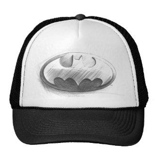 Batman Symbol | Insignia Drawing Logo Cap