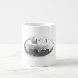 Batman Symbol | Insignia Drawing Logo Coffee Mug