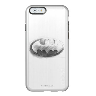 Batman Symbol | Insignia Drawing Logo Incipio Feather® Shine iPhone 6 Case