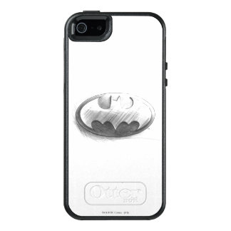 Batman Symbol | Insignia Drawing Logo OtterBox iPhone 5/5s/SE Case