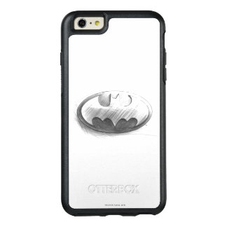 Batman Symbol   Insignia Drawing Logo OtterBox iPhone 6/6s Plus Case