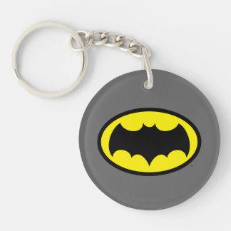 Batman Symbol Key Ring