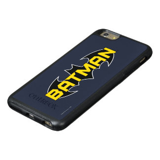 Batman Symbol   Name Yellow & Black Logo 2 OtterBox iPhone 6/6s Plus Case