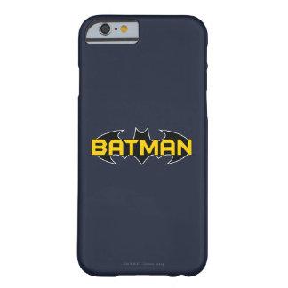 Batman Symbol | Name Yellow & Black Logo Barely There iPhone 6 Case