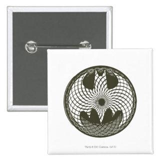 Batman Symbol | Nouveau Circle Logo 15 Cm Square Badge