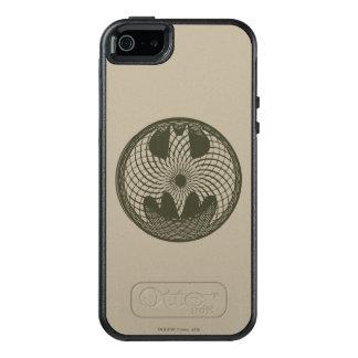 Batman Symbol   Nouveau Circle Logo OtterBox iPhone 5/5s/SE Case