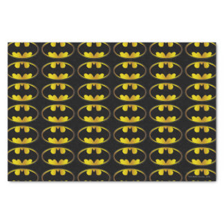 "Batman Symbol   Oval Gradient Logo 10"" X 15"" Tissue Paper"
