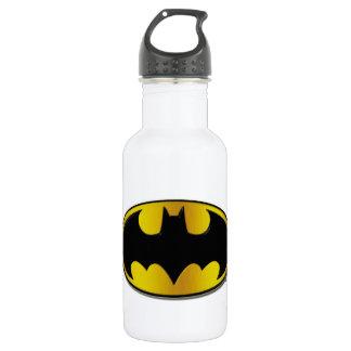 Batman Symbol | Oval Gradient Logo 532 Ml Water Bottle