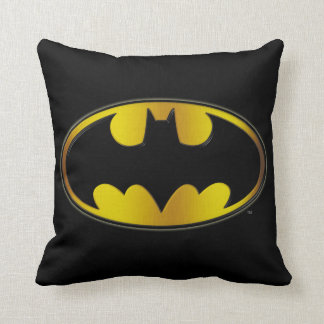 Batman Symbol | Oval Gradient Logo Cushion