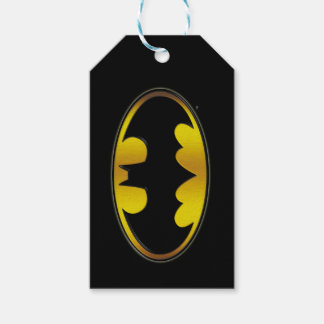 Batman Symbol | Oval Gradient Logo Gift Tags