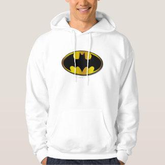 Batman Symbol | Oval Gradient Logo Hoodie