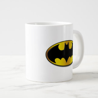 Batman Symbol | Oval Gradient Logo Large Coffee Mug