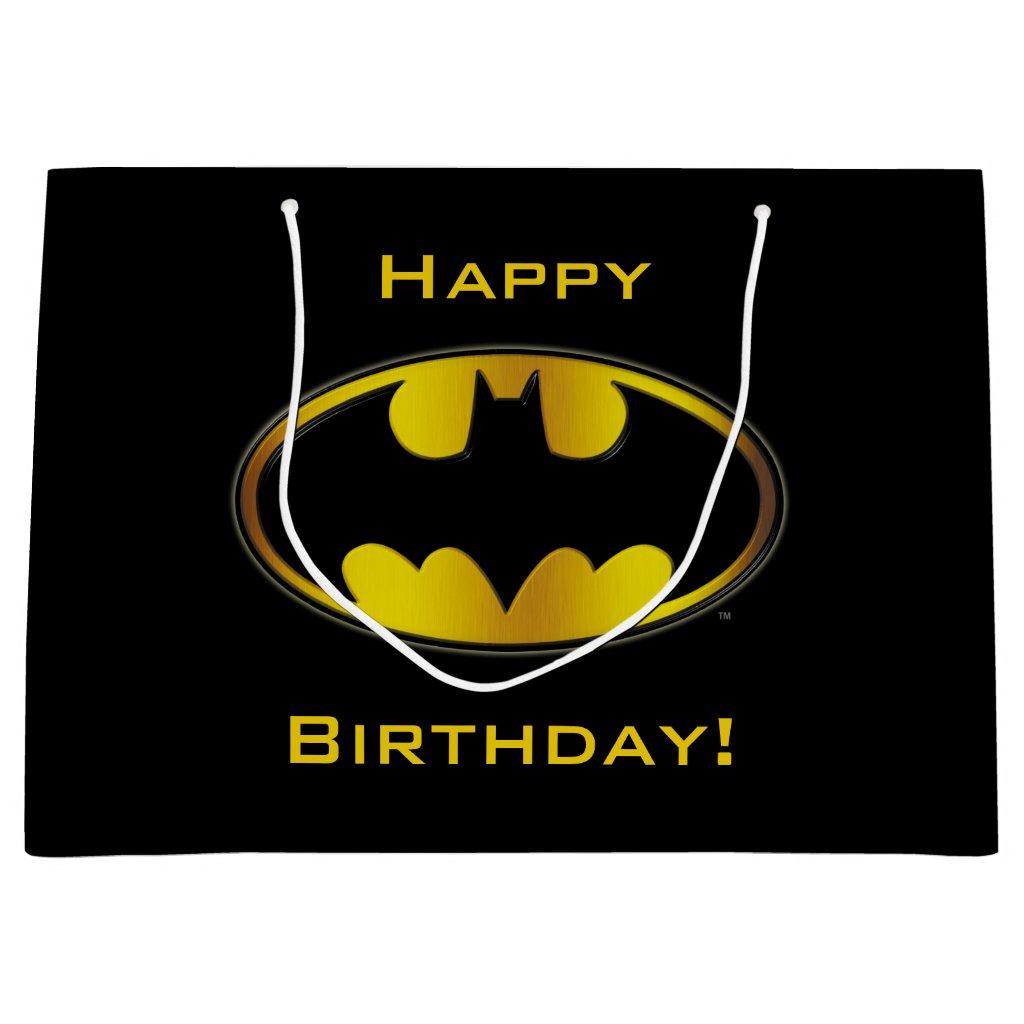 Batman Symbol | Oval Gradient Logo