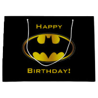 Batman Symbol Gift Bag
