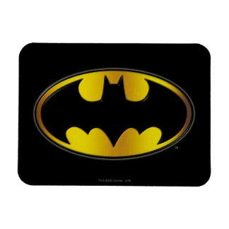 Batman Symbol   Oval Gradient Logo Magnet