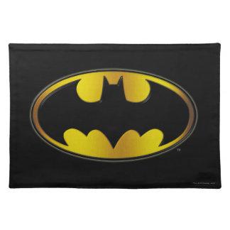 Batman Symbol | Oval Gradient Logo Placemat